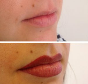 Permanent Make Up - Lippen