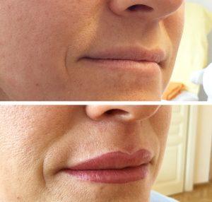 Permanent Make-Up Lippen Avantgarde Kiss